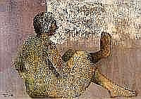 Pierre Pasteels (1936-1977). Dimensions: 0m80 x