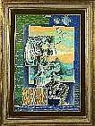 Pinchas Shaar (1923-1996). Dimensions: 0m60 x 0m40