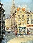 Jan Van Campenhout (1907-1972). Dimensions: 0m40 x