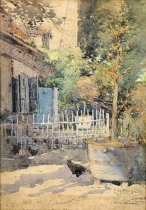 Victor Uytterschaut (1847-1917). Dimensions: 0m34