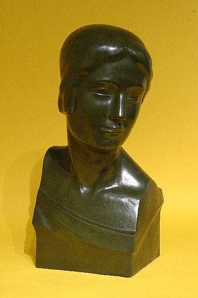 Léon Sarteel - Sculpteur gantois, 1882-1942. Buste