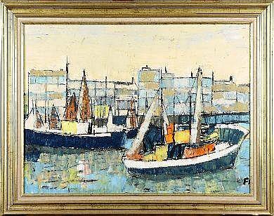 Pierre Fievet (1925-1996). Dimensions: 0m62 x 0m82
