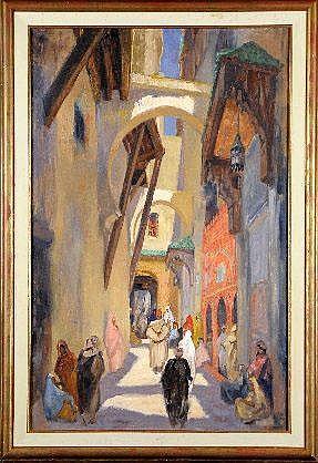 Charles Ernest Smets (1909-) (attribué à).