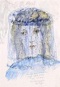 Alice Frey (1895-1981). Dimensions: 0m36 x 0m25