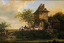 Henri Van Assche (1774-1841). Dimensions: 0m50 x