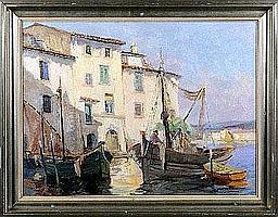 Victor Fermeuse (1894-1963). 0m60 x 0m80
