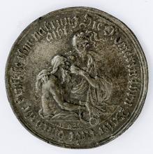 Roman feeding her father