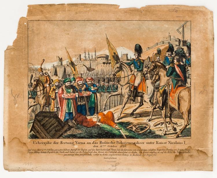 *Delivery of the fortress Varna to the Russian Army under Nicholas I