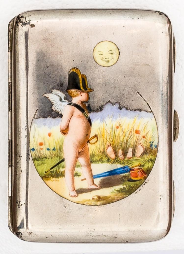 *Cigarette-case with Bonaparte-Putto