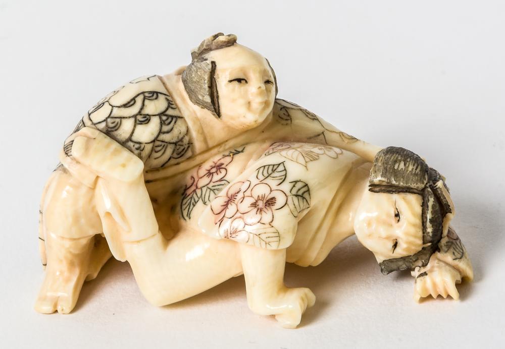 Ivory Erotic Netsuke