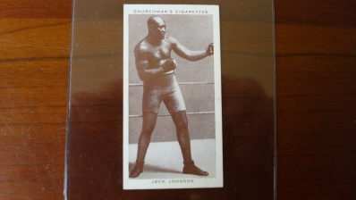 1938 Churchman Jack Johnson Card NM
