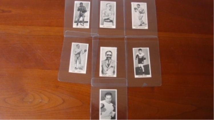 Knock Out Razor Blades (7) Boxing Cards
