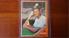 1962 TOPPS Curt Flood Card #590 EX