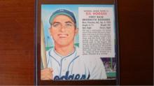 1955 Red Man w/out tab Gil Hodges EXM