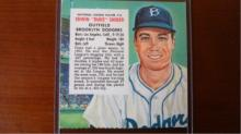 1954 Red Man w/out tab Duke Snider EX