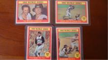 1961 TOPPS (4) World Series Subset EX+