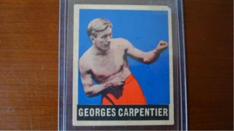 1948 LEAF Boxing George Carpentier Card