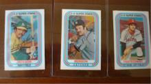 1976 Kellogg's Yaz, Munson, Reggie NM