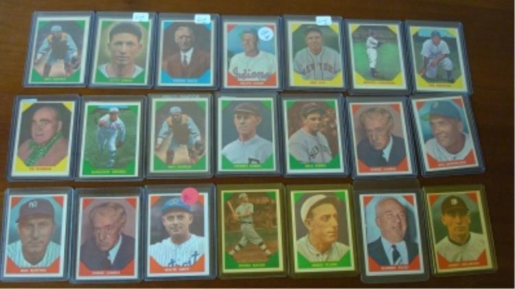 1960 FLEER (21) All Time Greats Baseball