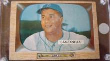 1955 Bowman Roy Campanella Card VG