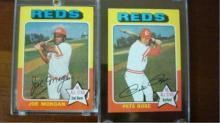 1975 TOPPS Pete Rose Joe Morgan Superstars