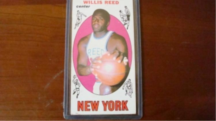 1969 TOPPS Basketball Willis Reed Rookie Cards