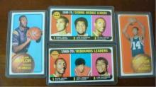 1970 TOPPS Basketball Leaders & Superstars