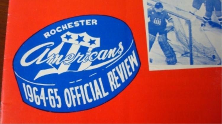 1964 Rochester Americas & Buffalo Sabres Yearbook