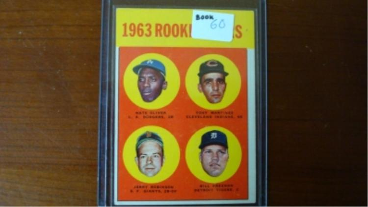 1963 TOPPS Bill Freehan Rookie Card EX