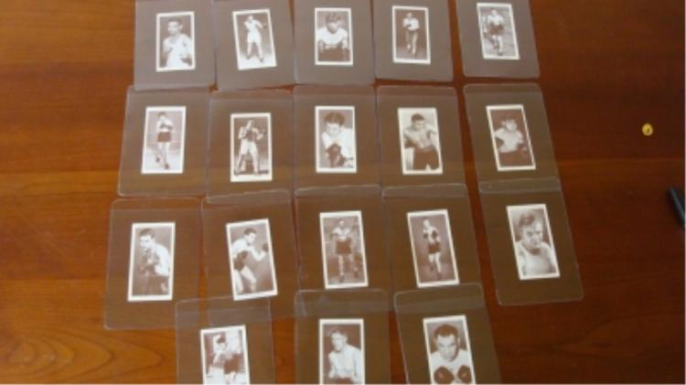 18 Churchman c1930 Boxing Cards Mostly NM