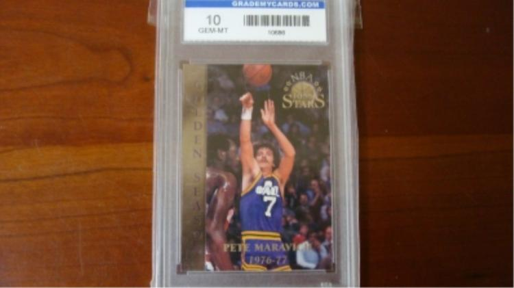 1978 Pete Maravich Card Grade 10 GEM-MT