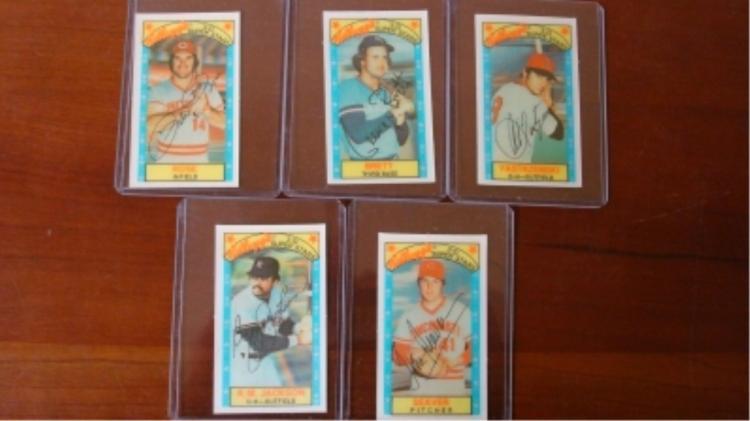 1979 Kellogg's Rose, Brett, Yaz, Reggie, Seaver