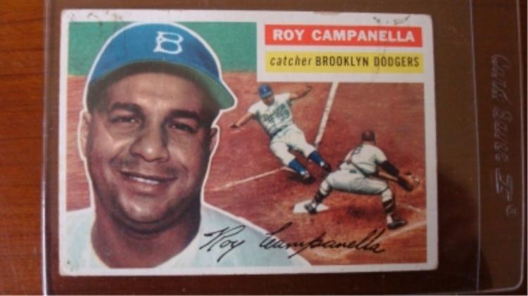 1956 TOPPS Roy Campanella Good