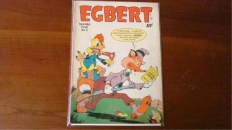 1940's Egbert Comic $0.10 has wear