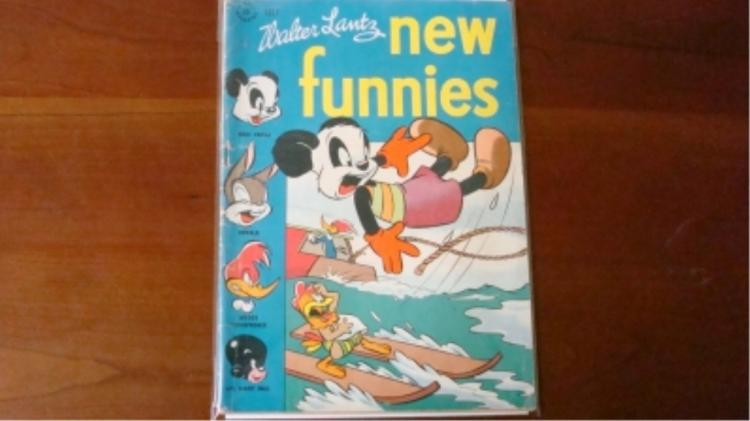 1940's New Funnies July some wear