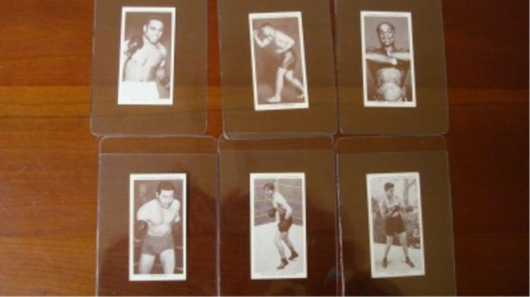 6 Churchman Boxing Cards All Champs NM