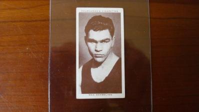 1938 Churchman Max Schmeling Card EX+