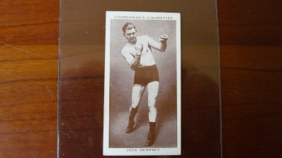 1938 Churchman Jack Dempsey Card EX+