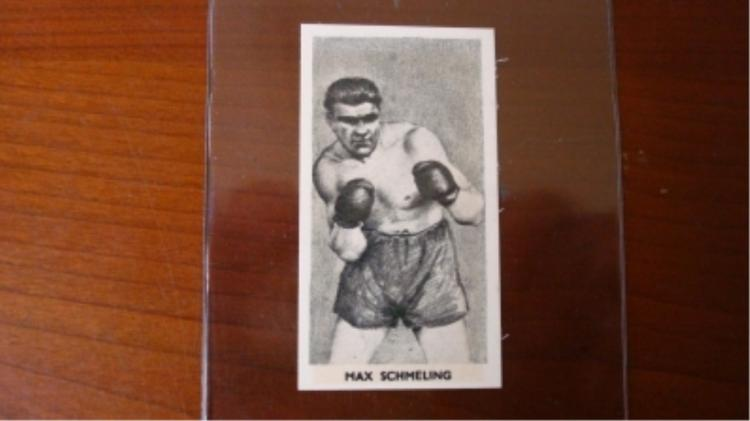 Knock Out Razor Blades Max Schmelings Card