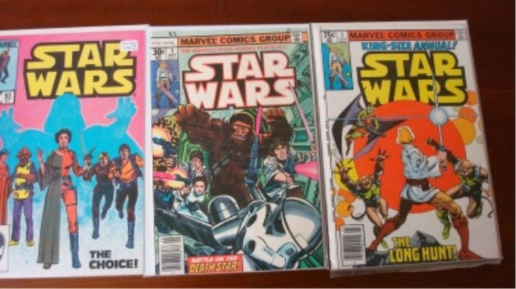 3 Star Wars Comics