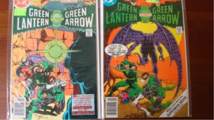 2 Green Lantern Comics 96 & 112