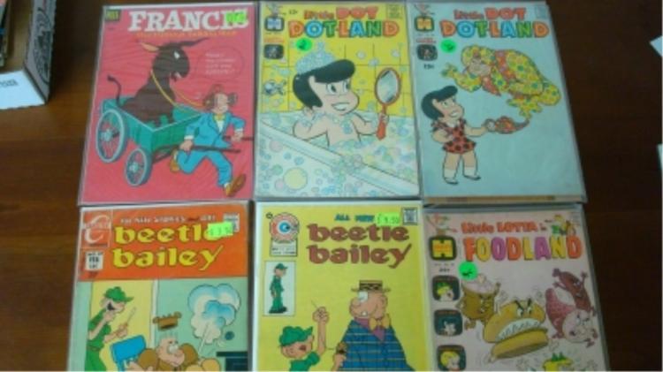Francis The Talking Mule Comic Plus 5 More