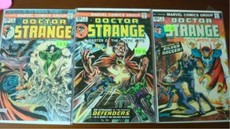 3 Doctor Strange Comics 5, 2, 6