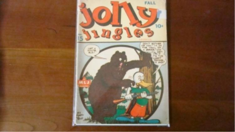 1940's Jolly Jingles Comic some wear & tears