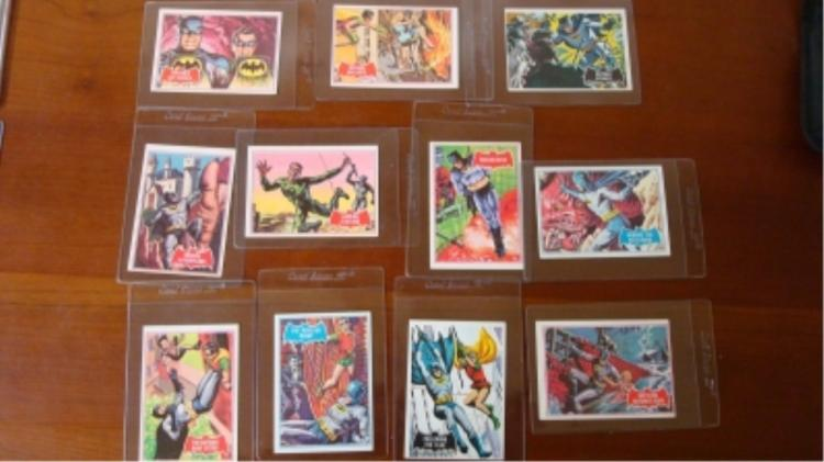 1966 Nat'l Periodical (11) Batman Cards