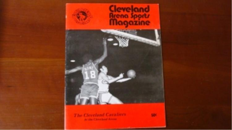 1970 Cleveland Cavaliers Program