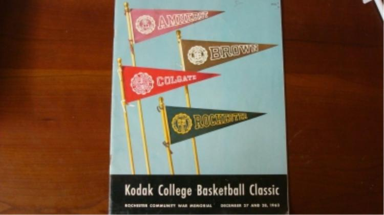 1963 Kodak College Basketball Classic Program