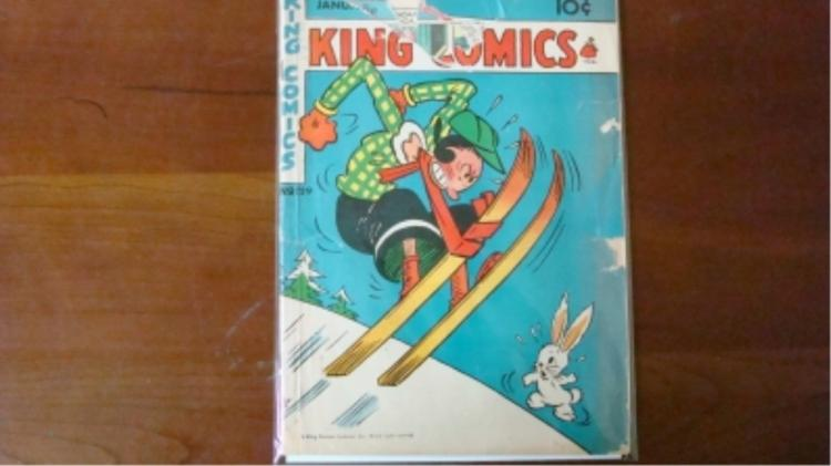 1940's King Comics wear & tears
