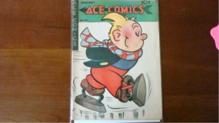 1940's Ace Comic some wear