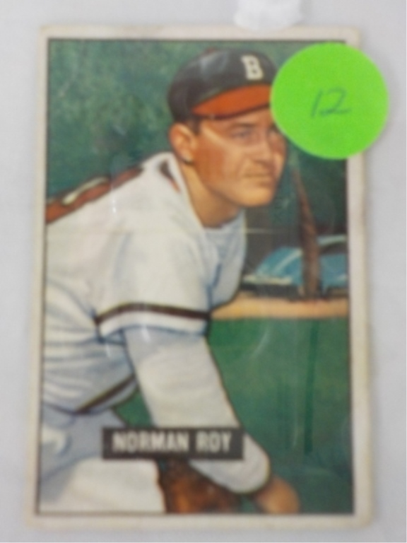 1951 Bowman High #278 Norman Roy Card